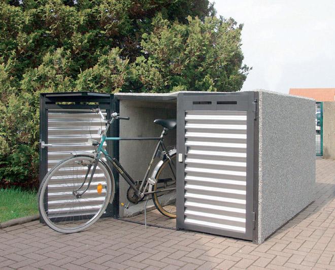 fahrradgarage 2 dd design typ w illmann gmbh co kg. Black Bedroom Furniture Sets. Home Design Ideas